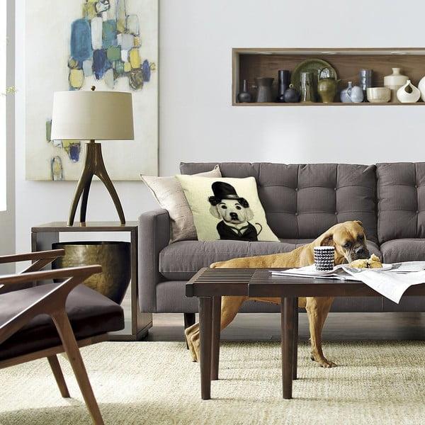 Poszewka na poduszkę Charles Dog, 45x45 cm