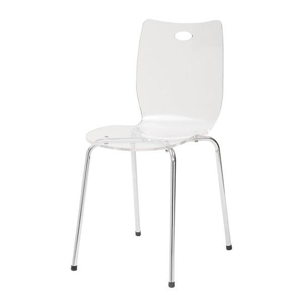 Krzesło Terry, białe