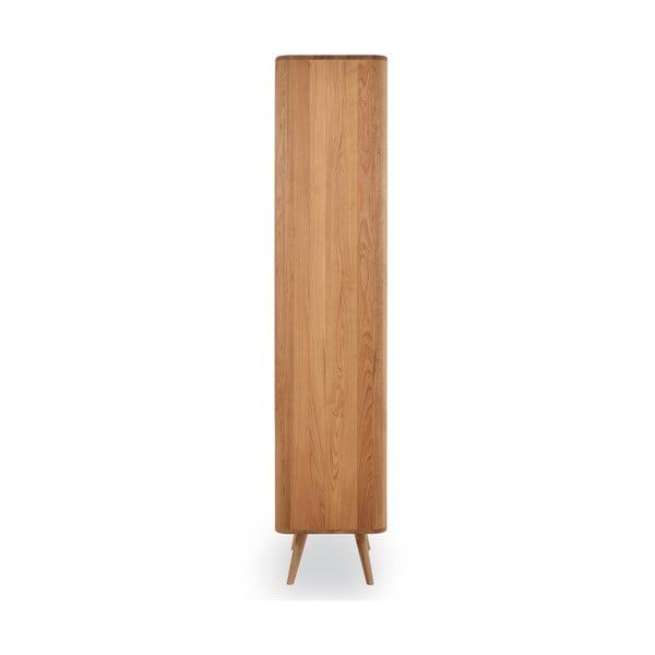 Regał z drewna dębowego Gazzda Ena, 60x42x196 cm