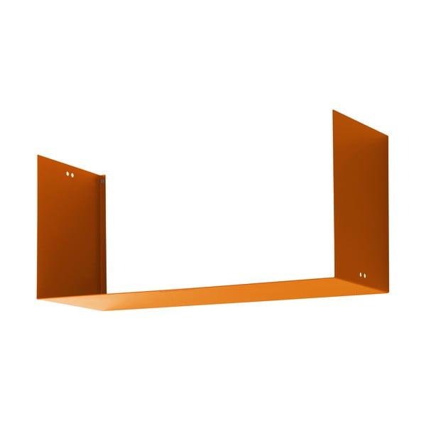 Półka Geometric Three, pomarańczowa