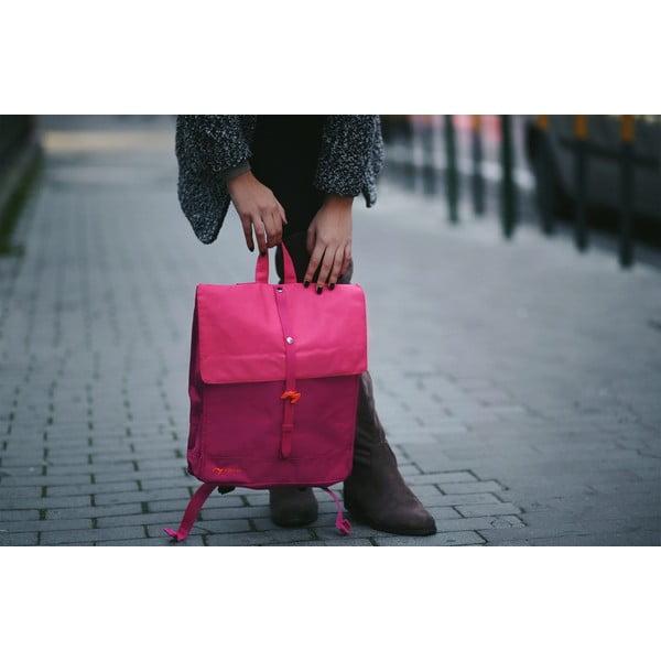Różowy plecak Natwee
