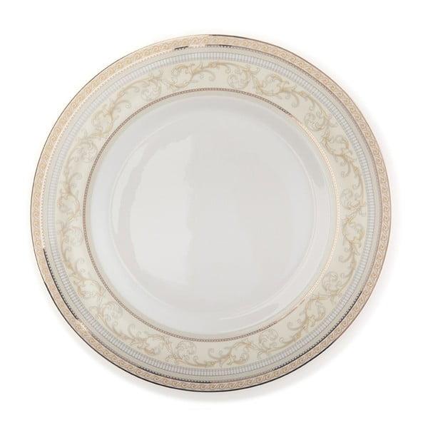 Komplet naczyń z porcelany kostnej Sabichi Decal, 20 szt.