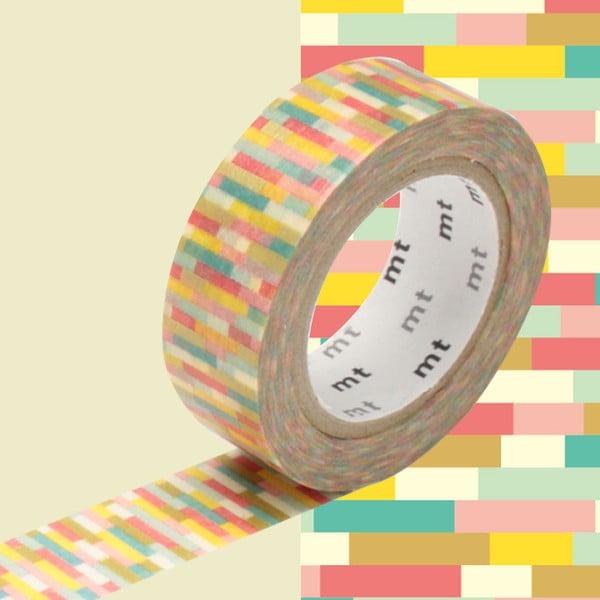 Taśma dekoracyjna washi MT Masking Tape Jeanne, dł.10m