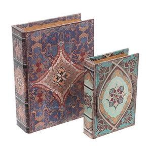 Zestaw 2 pudełek Blue Books