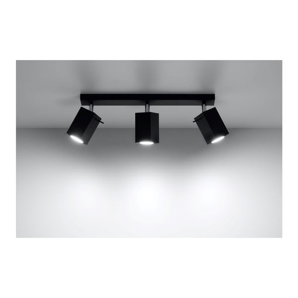 Czarna lampa sufitowa Nice Lamps Toscana 3