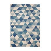 Niebieski dywan Mint Rugs Diamond Triangle, 160x230 cm