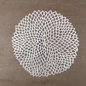 Okrągła mata stołowa w kolorze srebrnym InArt Winter