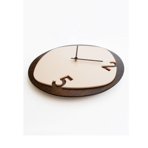 Zegar Clock25 Dark Wood