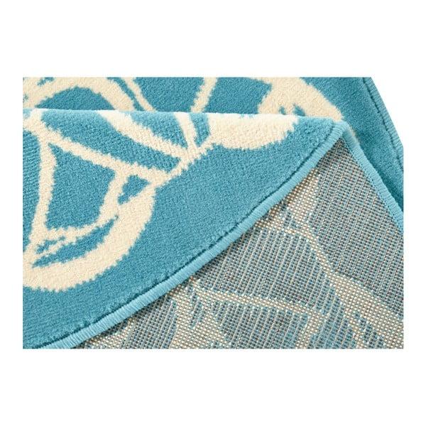 Niebieski dywan okrągły Zala Living Capri, ø 200 cm