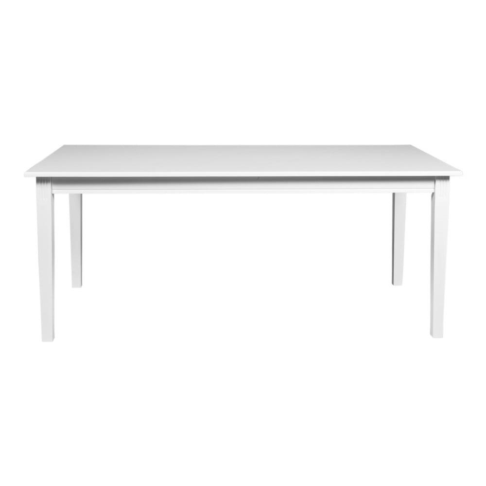 Biały stół do jadalni z drewna dębowego Rowico Wittskar, 180x90cm
