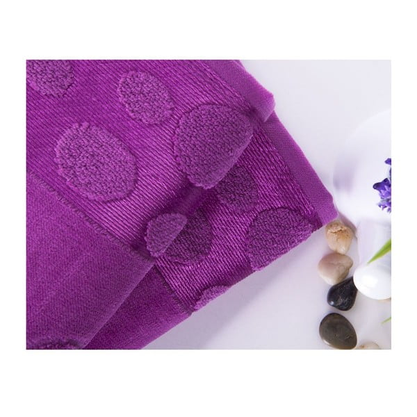 Zestaw 2 ręczników Tropical Plum, 50x90 cm