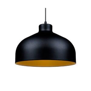 Czarno-złota lampa wisząca Loft You B&B, 33 cm