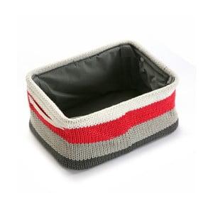 Koszyk Stripes Knitted, 36x18 cm