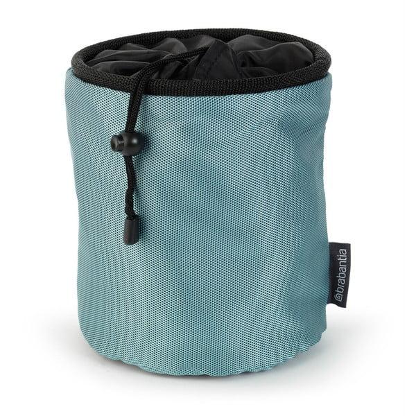 Worek na klamerki Premium, niebiesko-szary
