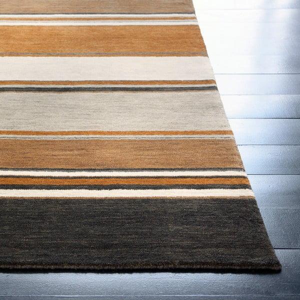Wełniany dywan Country Sand, 170x240 cm