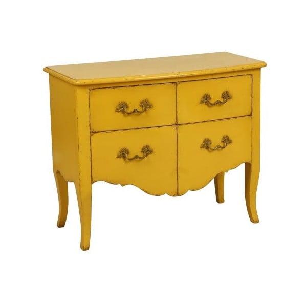 Komoda Tivoli Yellow, 95x78x46 cm
