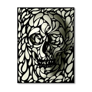 "Plakat autorski ""Skull Four"""