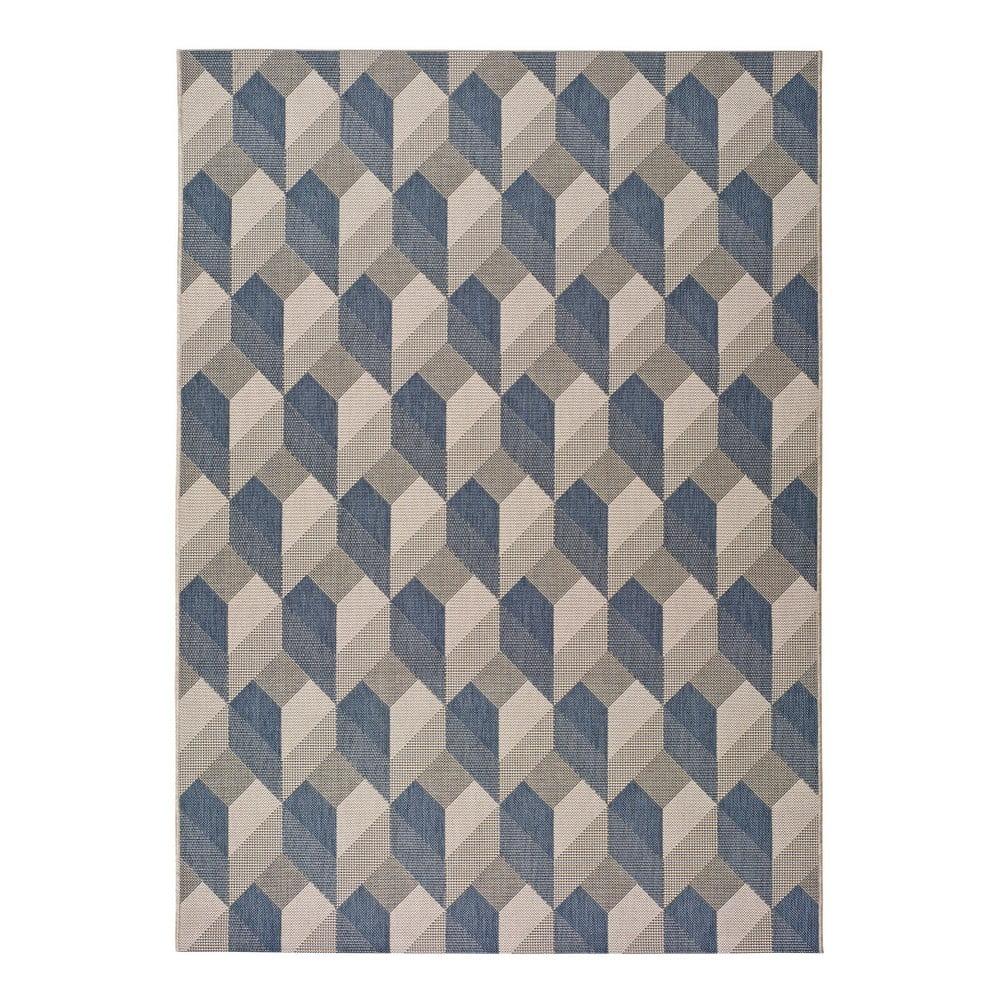 Beżowo-niebieski dywan odpowiedni na zewnątrz Universal Silvana Miratta, 160x230 cm