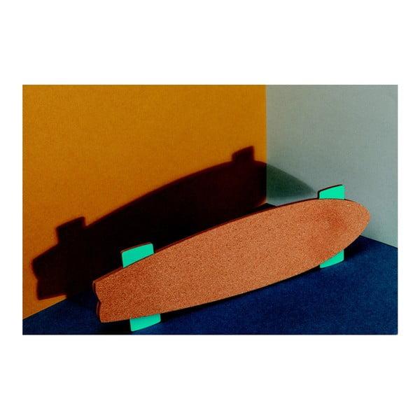 Korkowa tablica ścienna DOIY Skate Memo
