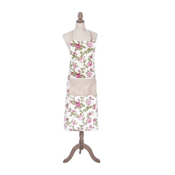 Zestaw fartuch, rękawica i podkładka kuchenna Roses Pink