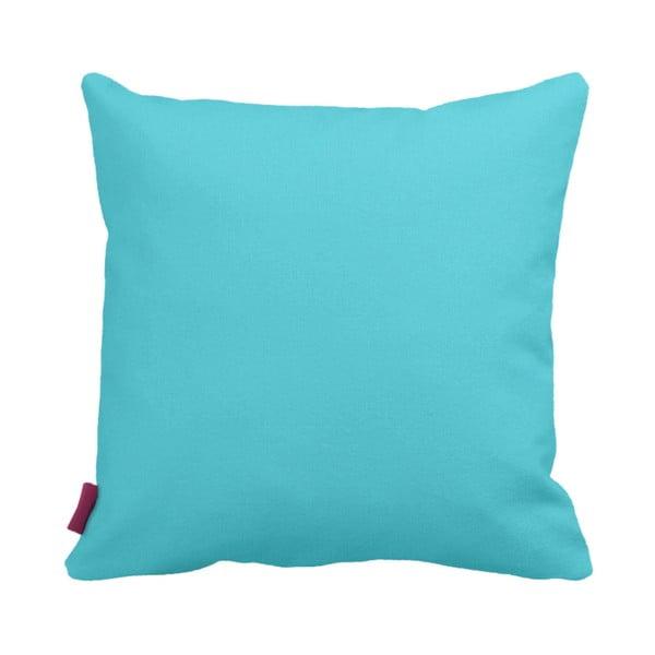 Turkusowo-biała   poduszka Home Blue, 43x43cm