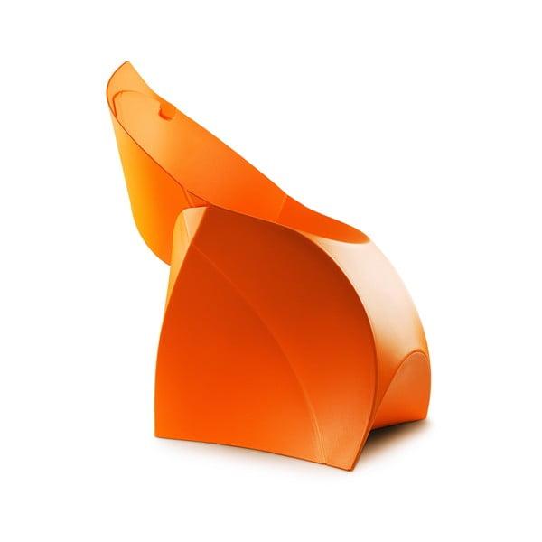 Krzesło Flux, pomarańczowe