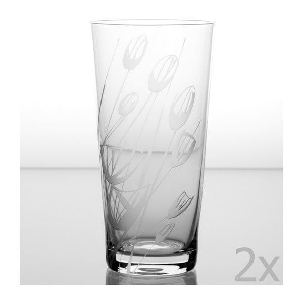 Zestaw 2 szklanek Czarnuszka 480 ml