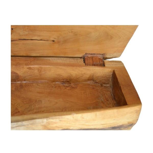 Drewniana szkatułka na biżuterię Erosi