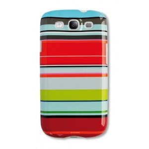 Etui na telefon Galaxy S3 Stripy