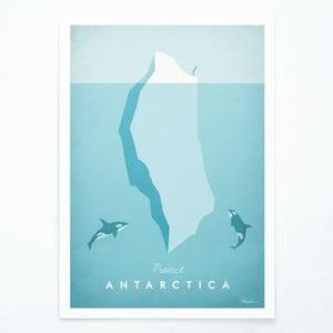 Plakat Travelposter Antarctica, A2