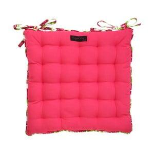 Różowa poduszka na krzesło Ragged Rose Paddy Plain