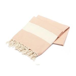 Ręcznik hammam American Stripes Powder, 100x180 cm