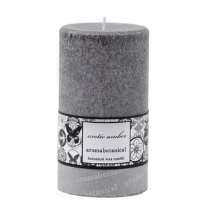 Świeczka z wosku palmowego o zapachu bursztynu Aromabotanical, czas palenia24h