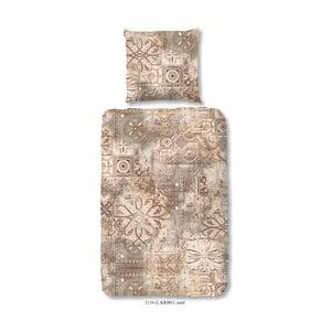 Pościel jednoosobowa z satyny bawełnianej Muller Textiels Rusto, 140x200 cm