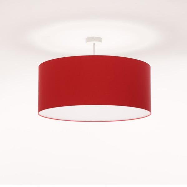 Czerwona lampa wisząca Artist, Ø 60 cm