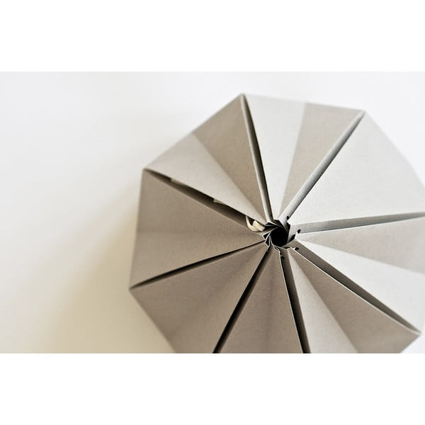 Lampa wisząca Origamica Spring Light For Two Elegant Grey