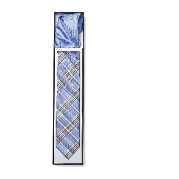 Zestaw krawata i poszetki Ferruccio Laconi 16