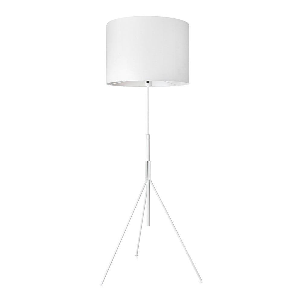 Biała lampa stojąca Markslöjd Sling, ø 52cm