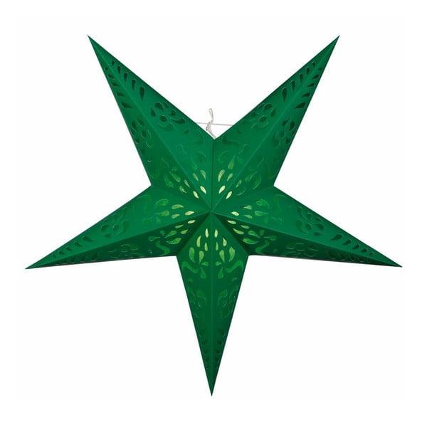 Gwiazda dekoracyjna Five Green, 60 cm