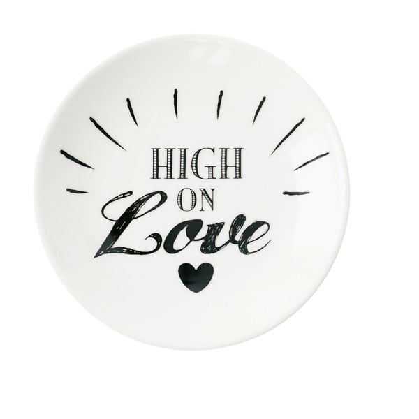 Talerz ceramiczny Miss Étoile High On Love