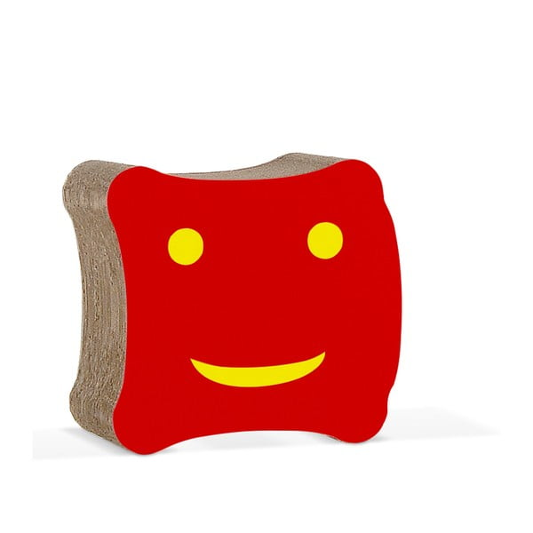 Kartonowe krzesełko dziecięce Biscotto Red
