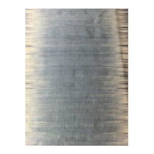 Niebieski dywan wełniany Lulu, 160x230 cm