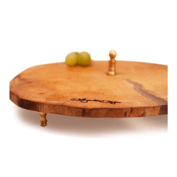 Taca drewniana Slice Trio