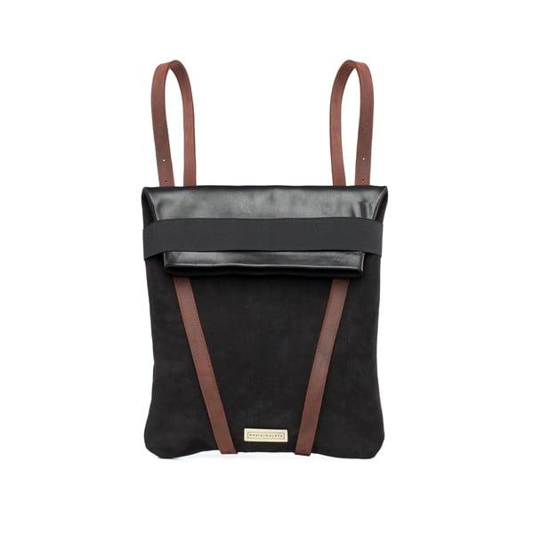 Skórzany plecak dwustronny Maria Maleta Blackpack