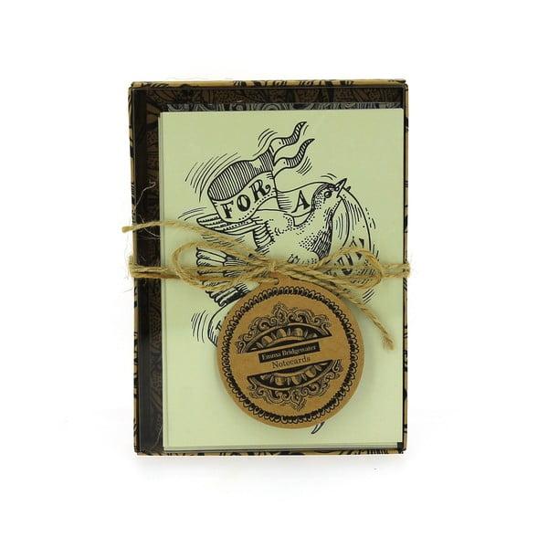 Zestaw 12 kopert z życzeniami Blueprint Collections For You Alone