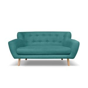 Ciemnozielona sofa dwuosobowa Cosmopolitan design London