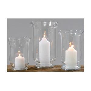 Zestaw 3 szklanych świeczników Boltze Light