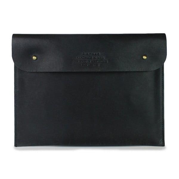 Czarne etui skórzane na iPad O My Bag Sleeve