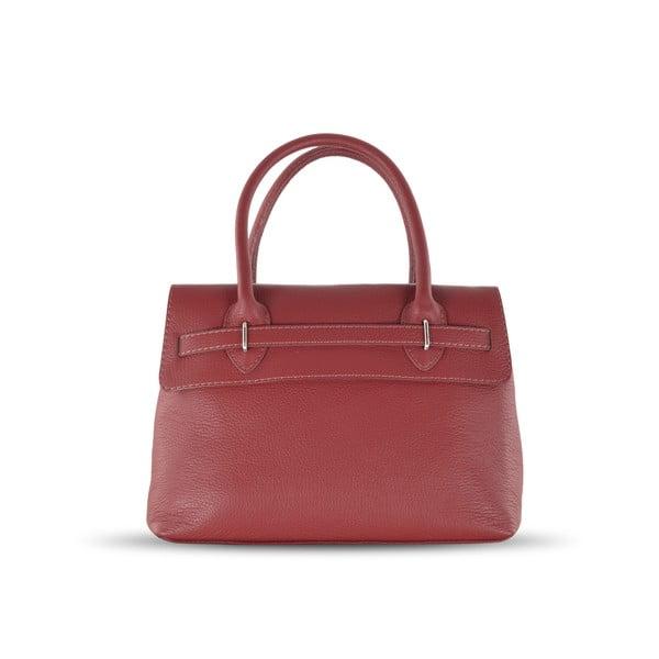 Skórzana torebka Jen, czerwona