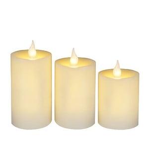 Zestaw 3 świeczek LED Wachs Candle